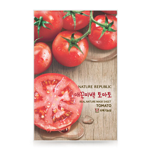 Mặt nạ Nature Republic Real Nature Tomato Mask Sheet 23ml