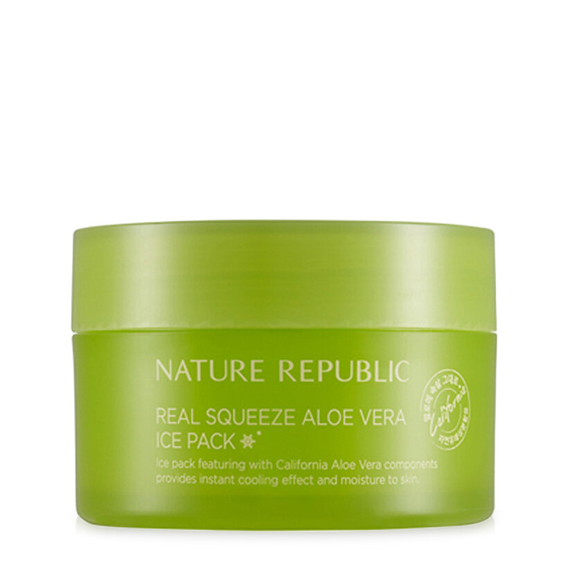 Mặt nạ Nature Republic Real Squeeze Aloe Vera Ice Pack 100ml