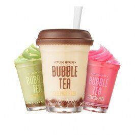 Mặt nạ ngủ Etude House Bubble Tea Sleeping Pack