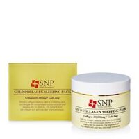 Mặt nạ ngủ SNP Gold Collagen Sleeping Pack 100g