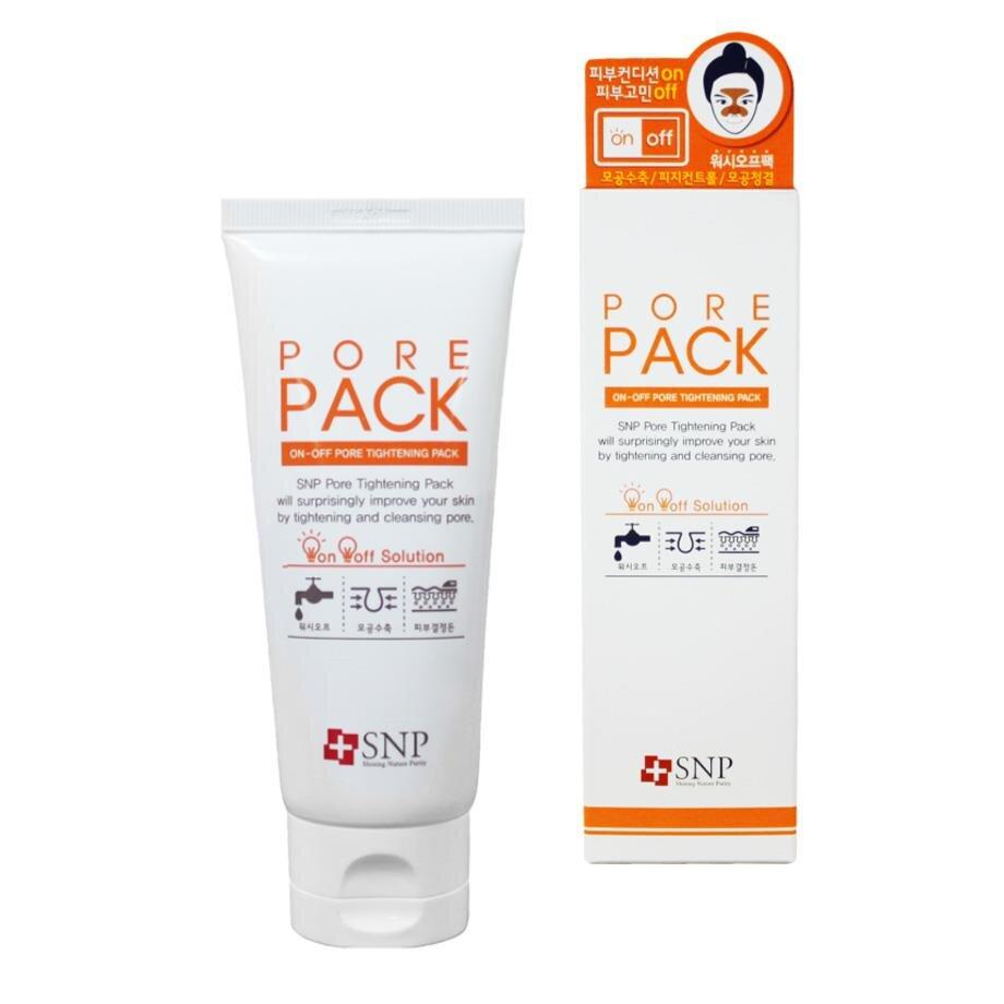Mặt nạ se khít lỗ chân lông SNP On-off Pore Tightening Pack 80g