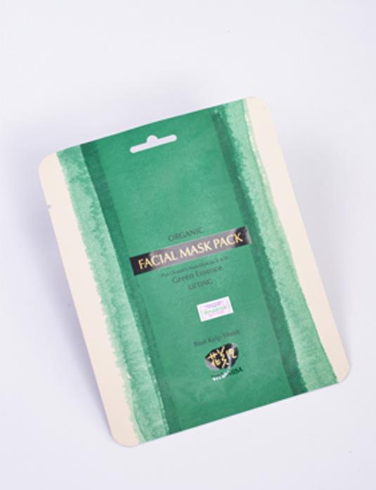 Mặt nạ tảo biển chống lão hóa Whamisa Organic Facial Mask Pack (Real Keep Sheet)