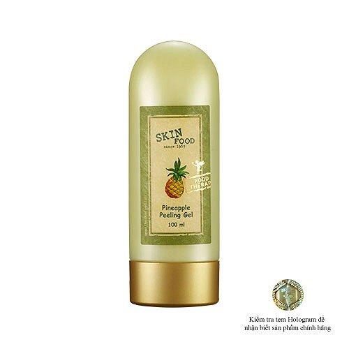 Mặt nạ tẩy tế bào chết dạng gel chiết xuất trái thơm Skinfood Pineapple Morning Peeling Gel