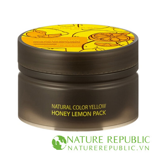 Mặt nạ thiên nhiên chiết xuất từ mật ong và chanh Natural Color Yellow Honey Lemon Pack