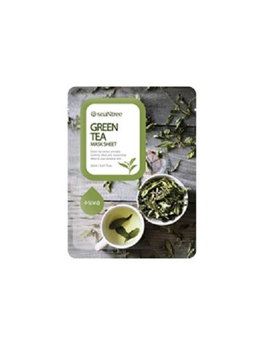 Mặt nạ trà xanh seaNtree Green Tea Mask Sheet 10ea