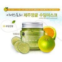 Mặt nạ trị mụn Innisfree Jeju Sudachi Soothing Mask 100ml