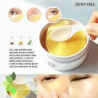 Mặt nạ trị thâm vùng mắt Dewy tree Prime Gold Snail Eye Patch
