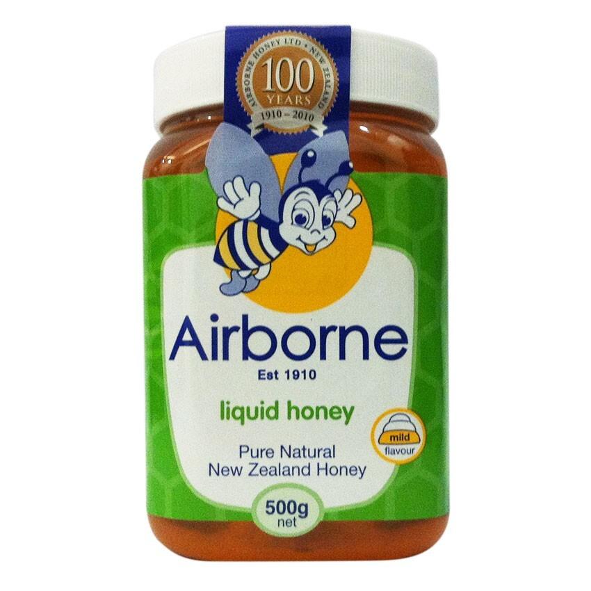 Mật ong Airborne Liquid Honey – hộp 500g