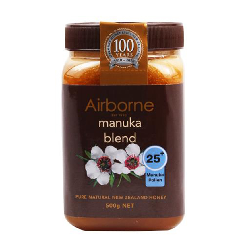 Mật ong Airborne Manuka blend 25+
