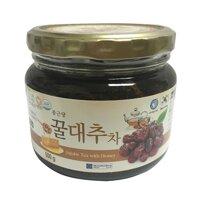 Mật Ong Táo Tàu Ginseng House - Jujube Tea With Honey - Hộp 500g