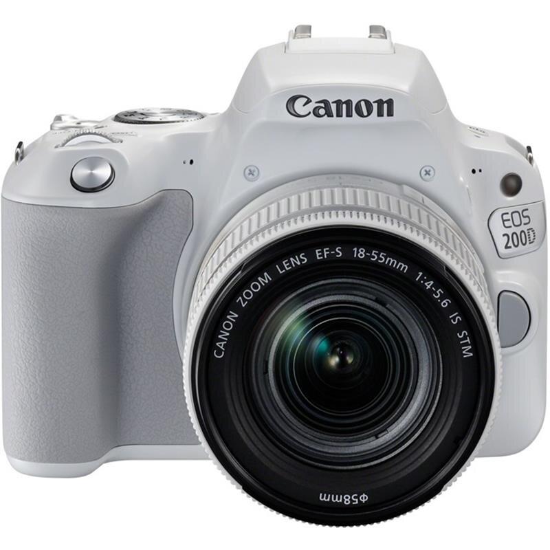 Máy ảnh Canon EOS 200D + Kit EF-S18-55mm IS STM
