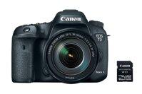 Máy ảnh Canon EOS 7D II w/18-135 IS USM + W-E1