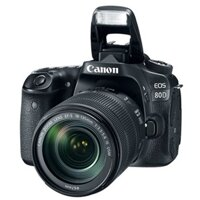 Máy ảnh Canon EOS 80D với Lens Kit EF-S18-55 IS STM