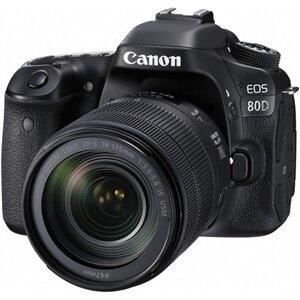 Máy ảnh Canon EOS 80D với lens Kit EF-S 18-135mm f/3.5-5.6 IS USM