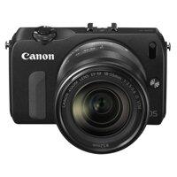 Máy ảnh Canon EOS M kèm lens 18-55(BK) Đen