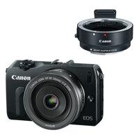 Máy ảnh Canon EOS M kèm Lens 22mm và Adaptor
