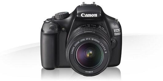 Máy ảnh DSLR Canon EOS 1100D - 12.2 MP, EF-S 18-55mm, F3.5-5.6 IS II