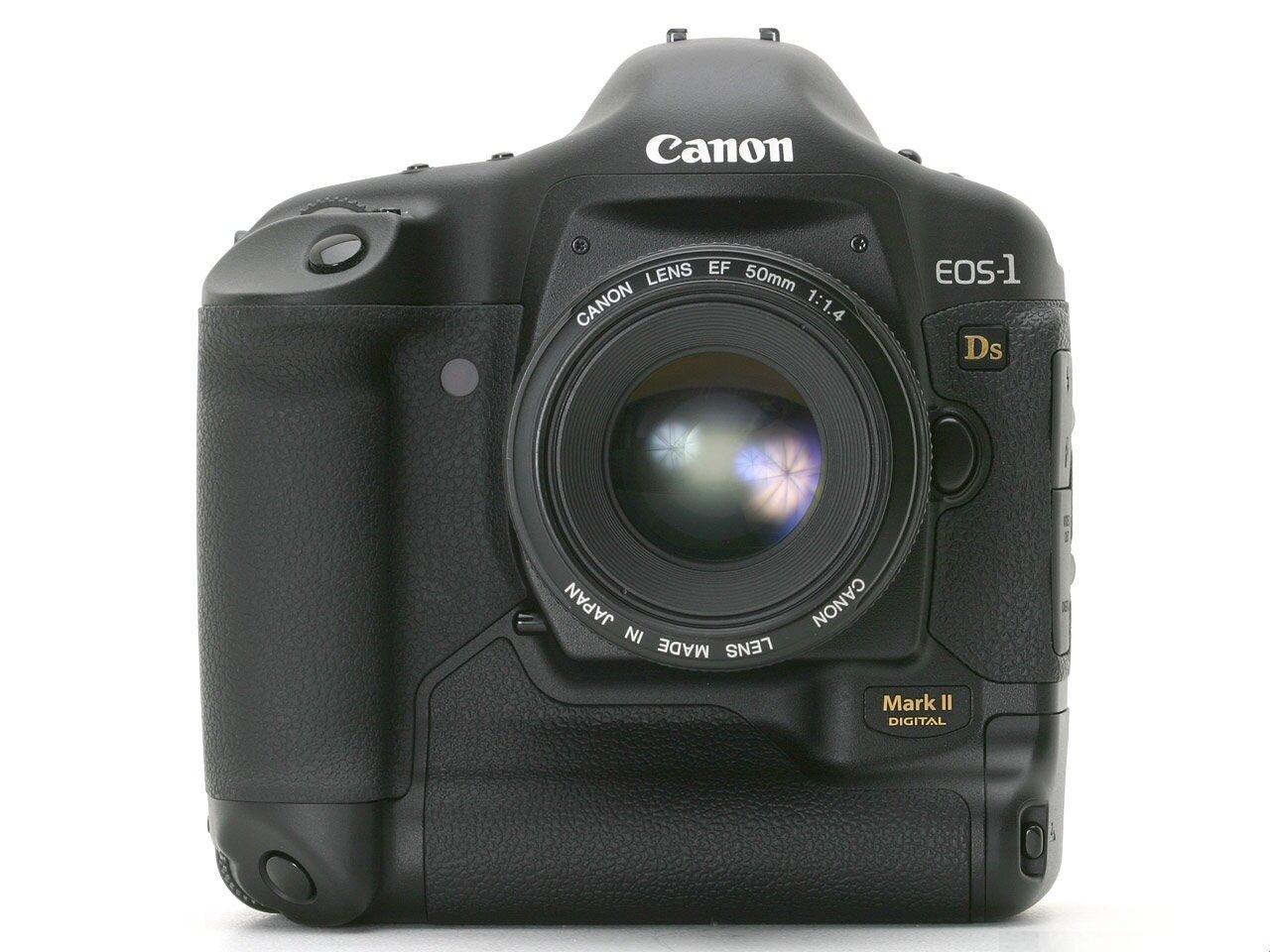Máy ảnh DSLR Canon EOS-1Ds Mark II Body - 18MP