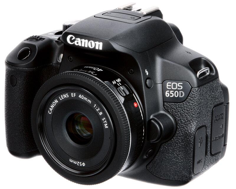 Máy ảnh DSLR Canon EOS 650D