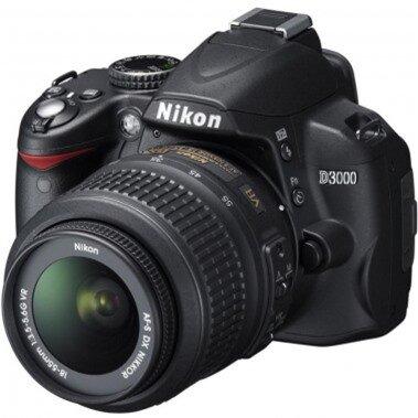 Máy ảnh DSLR Nikon D3000 ( AF-S DX NIKKOR 18-55mm F3.5-5.6G VR)