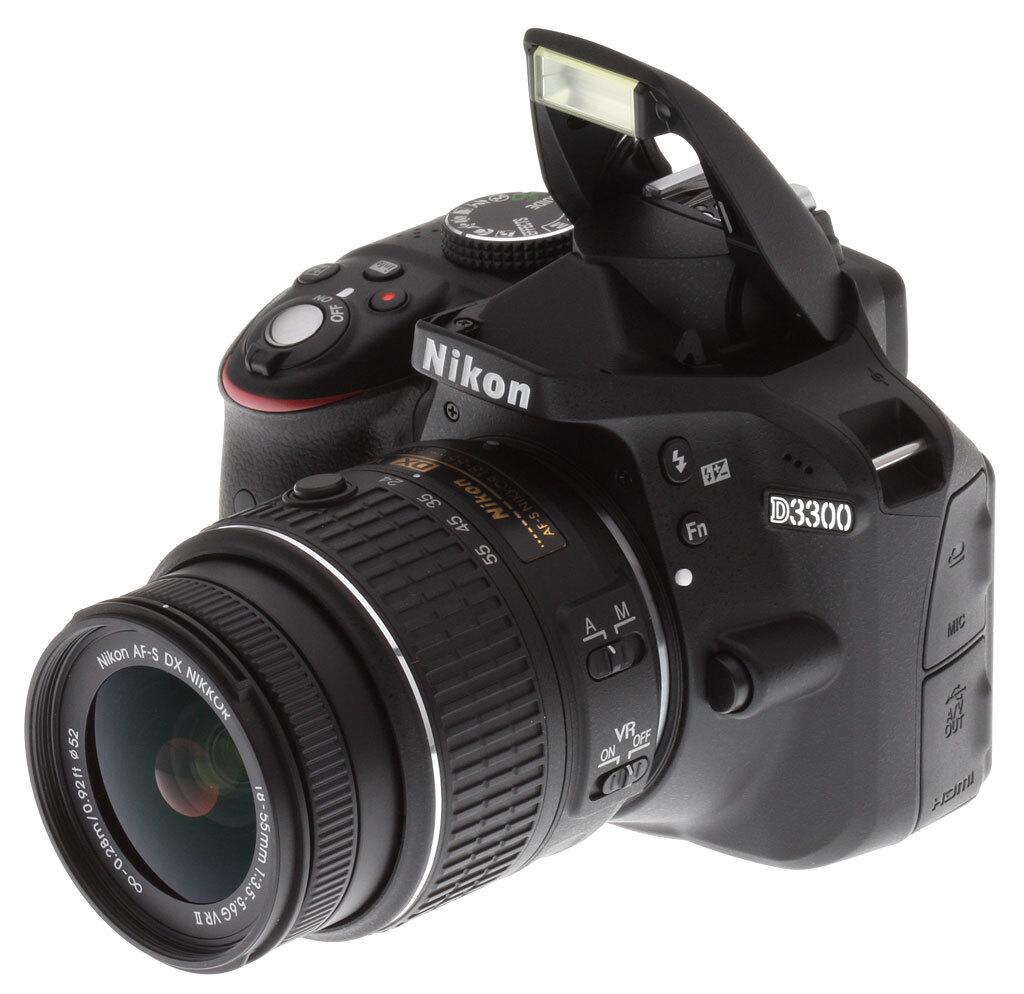 Nơi bán Máy ảnh DSLR Nikon D3300 (S18-55 VRII/ 18-55 VR II) - 24.2MP giá rẻ nhất tháng 04/2019   websosanh.vn