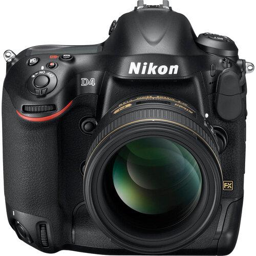 Máy ảnh DSLR Nikon D4 Body - 16.2 MP