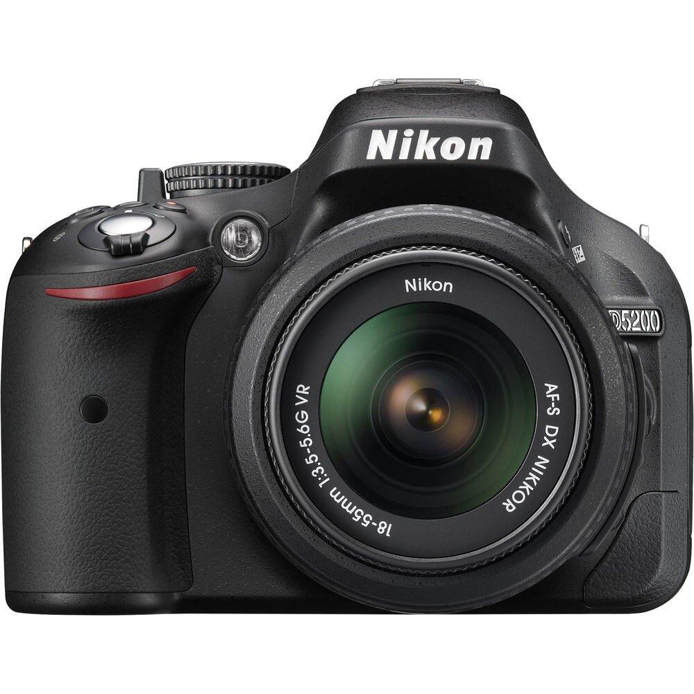 Máy ảnh DSLR Nikon D5200 (AF-S DX Nikkor 18-55mm F3.5-5.6 G VR) Lens Kit