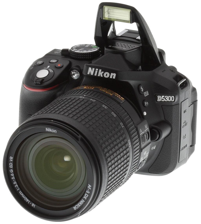 Máy ảnh DSLR Nikon D5300 Lens 18-55mm f/3.5-5.6