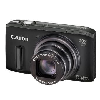 Máy ảnh kỹ thuật số Canon PowerShot SX260HS (SX 260 HS) - 12.1 MP