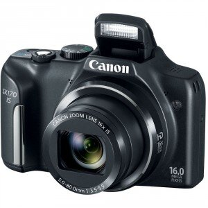 Máy ảnh kỹ thuật số Canon PowerShot SX170IS (SX170 IS) - 16 MP