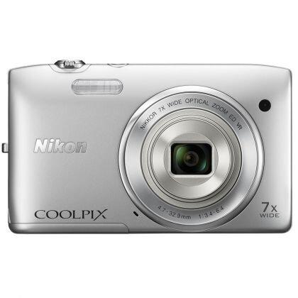 Máy ảnh kỹ thuật số Nikon Coolpix S3500 - 20 MP
