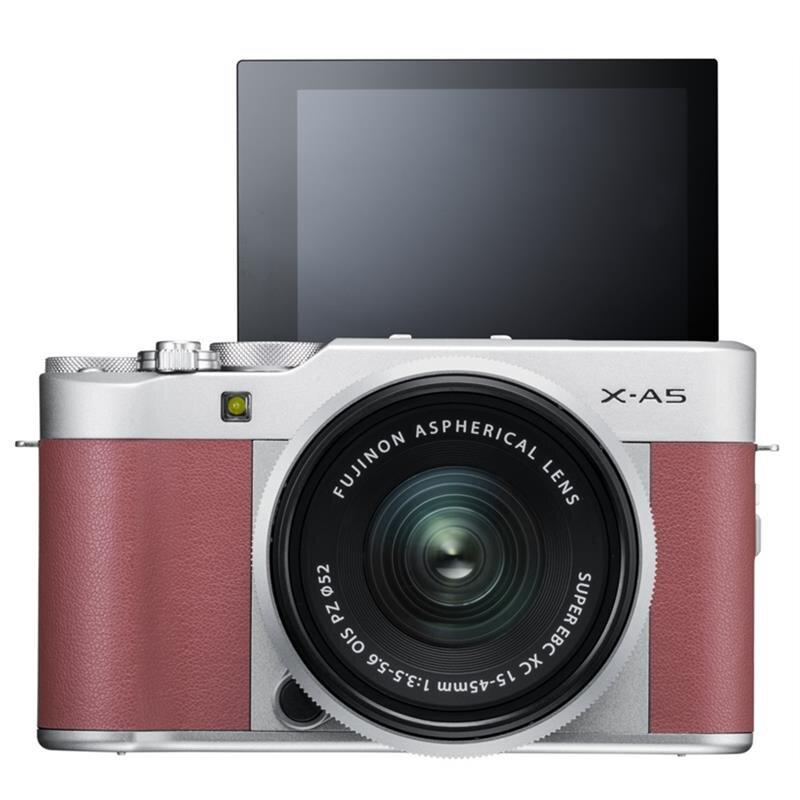 Máy ảnh Mirrorless Fujifilm X-A5 KIT XC 15-45mm F/3.5-5.6 OIS PZ