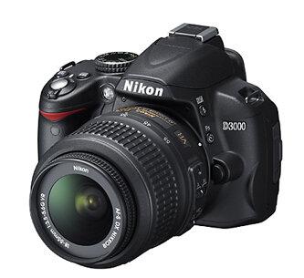 Máy ảnh Nikon D3000 kit