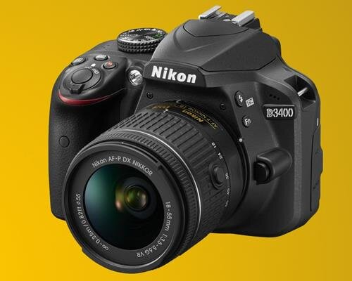 Máy ảnh Nikon D3400 AF-P DX 18-55mm F/3.5-5.6G VR - 24MP