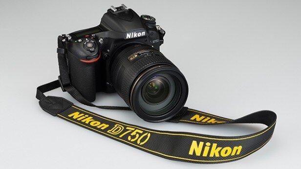 Máy ảnh Nikon D750 kit 24-120mm f-4G ED VR