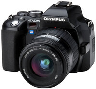 Máy ảnh Olympus E-500 + 14-42mm
