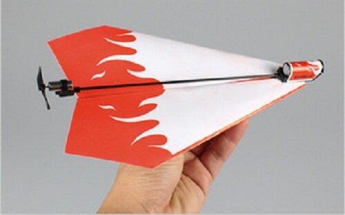 Máy bay CB9 - Biến động cơ giấy thành tàu lượn máy bay