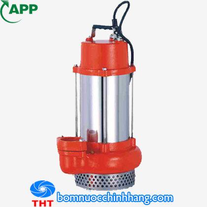Máy bơm chìm hút nước thải APP KSH-10 1 HP 220V