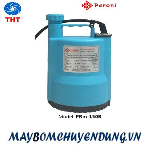 Máy bơm chìm hút nước thải đẩy cao Peroni PRM-150B, 150W
