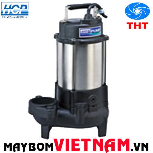 Máy bơm chìm hút nước thải HCP F-05U 1/2HP(380V)- có phao