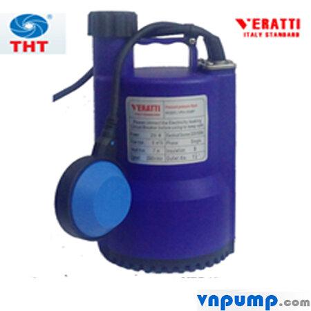 Máy bơm chìm nhựa có phao Veratti VRm 150B 150W