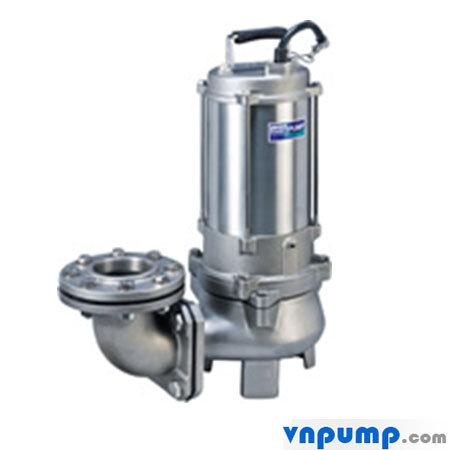Máy bơm chìm nước thải bằng inox đúc 316 3 pha 2 pole HCP 80SFP25.5 7.5HP