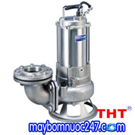 Máy bơm chìm nước thải inox đúc 316 HCP 80(100)SFP/U25.5 7.5HP
