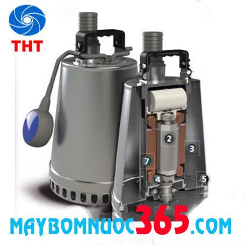 Máy bơm chìm nước thải inox ZENIT DR-STEEL 75M 0.75 KW