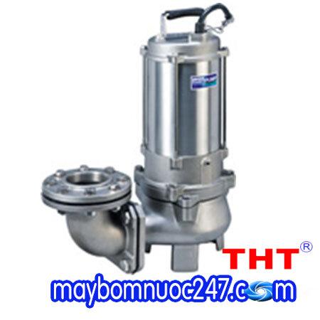 Máy bơm chìm nước thải inox đúc 316 HCP 80SFU23.7 5HP