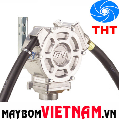 Máy bơm dầu quay tay piston GPI HP-100-NUL