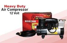 Máy bơm lốp ô tô, xe máy mini Heavy Duty Air Compressor 12V