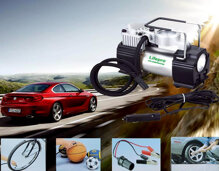 Máy bơm lốp xe ô tô Lifepro nhỏ gọn, tiện dụng, cứu hộ tiện ích