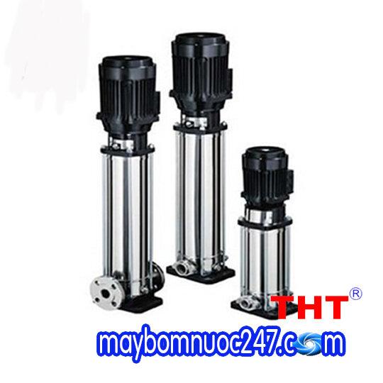 Máy bơm ly tâm trục đứng đầu inox EBARA EVMS 3 23F5HQ1BEGE/2.2 3HP