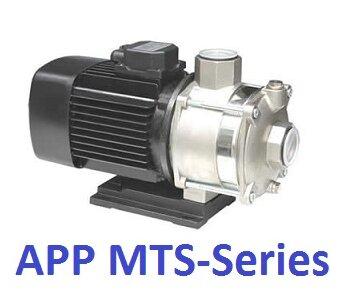Máy bơm ly tâm trục ngang đa tầng cánh APP MTS-54T - 1HP